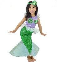Little Mermaid Costume Halloween Costume Kids Mermaid Costume Kids Little Mermaid Dress Fancy Dress Mermaid Cartoon
