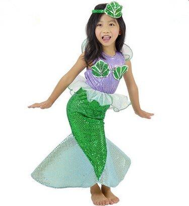 little mermaid costume halloween costume kids mermaid costume kids little mermaid dress fancy dress mermaid cartoon - Mermaid Halloween Costume For Kids