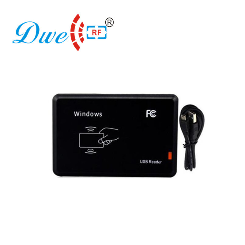DWE CC RF Access control card reader contactless RFID EM id card reader with usb interface txl желтый