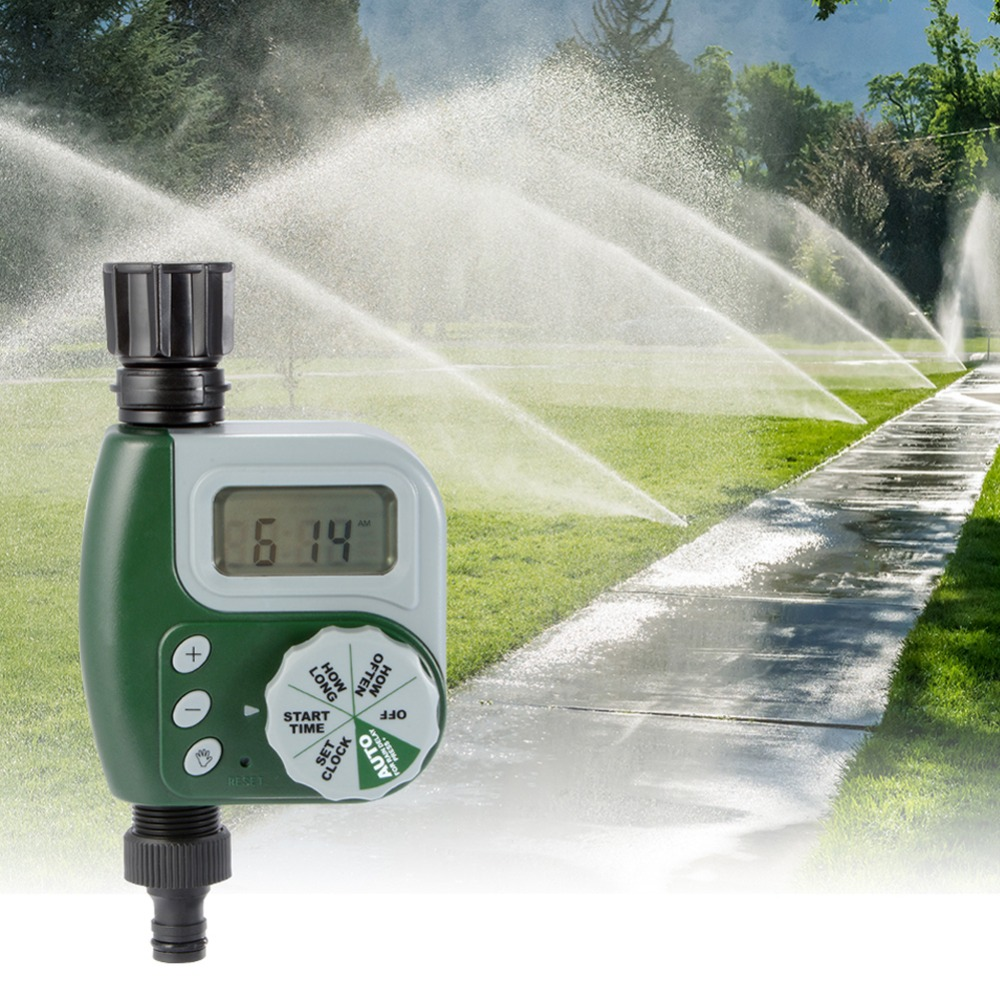 Automatic automatic garden watering irrigation timer agriculture