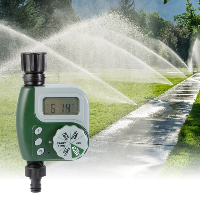 Automatic automatic garden watering irrigation timer garden irrigation automatic agriculture irrigation timer