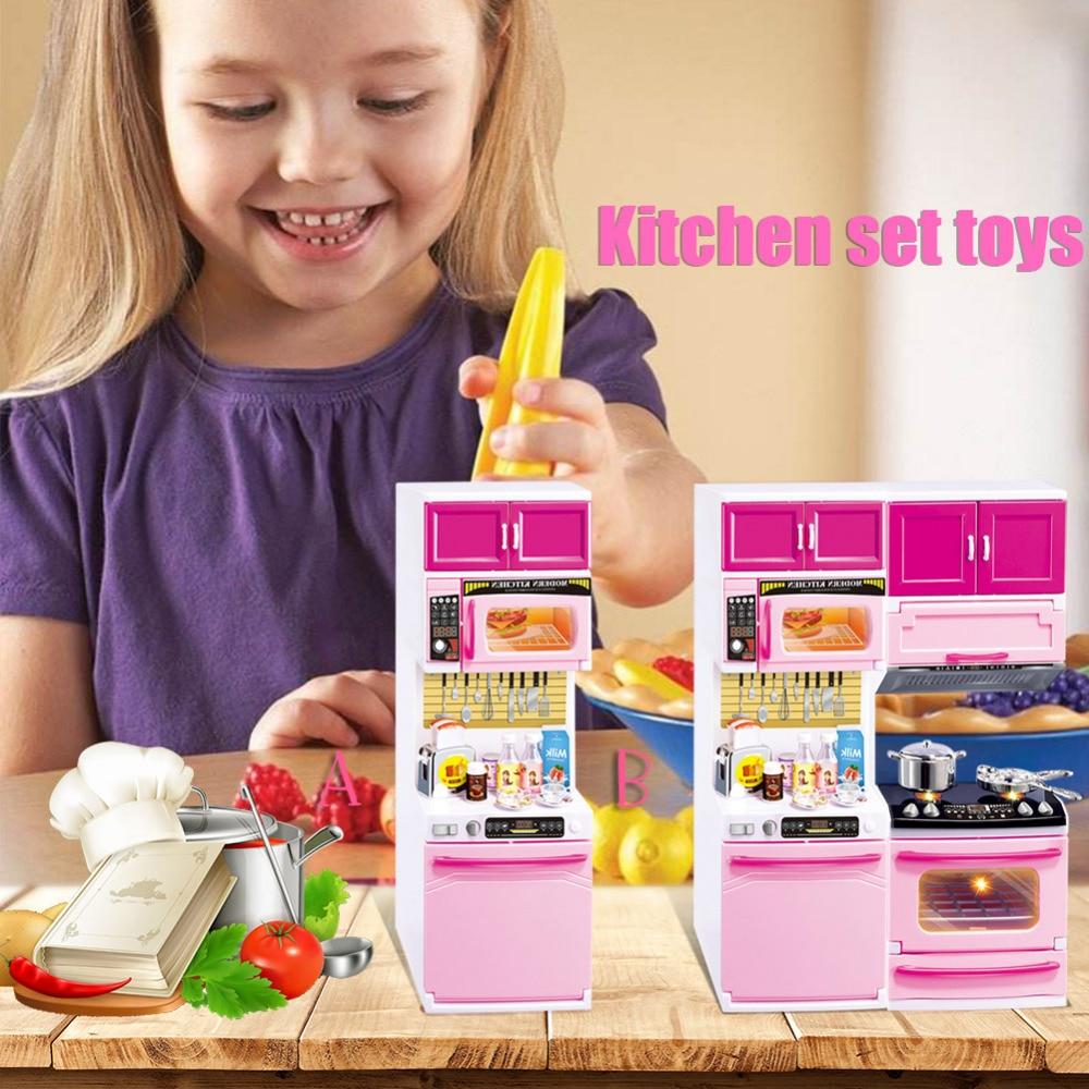 Aliexpress.com : Buy Girls Play House Kitchen Toys Mini ...