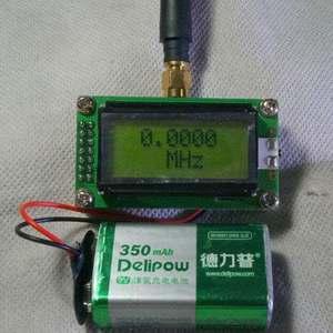 Image 4 - Высокоточный цифровой измеритель частоты от 1 МГц до 500 МГц, ЖК дисплей 0802 + антенна для Ham радио усилитель