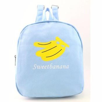 Blue Banana Travel Satchel School Bag Backpack Women Casual Daypack Backpack Mini Trip Backpacks Shoulder Soft Backpacks Bags#30 bag