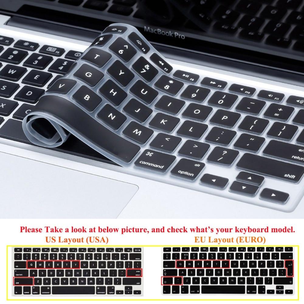 RYGOU kristálytiszta tok Apple Macbook Air Pro Retina 11 12 13 15 - Laptop kiegészítők - Fénykép 5