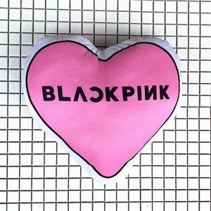 YOUPOP KPOP Blackpink Album Love Lightstick Blackpink Cartoon Black Pink Toy Dolls Light Stick Plush Pillow LU5073