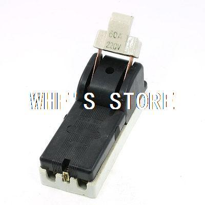 AC 220V 60A Two Pole Single Throw Circuit Control font b Knife b font Disconnect Switch