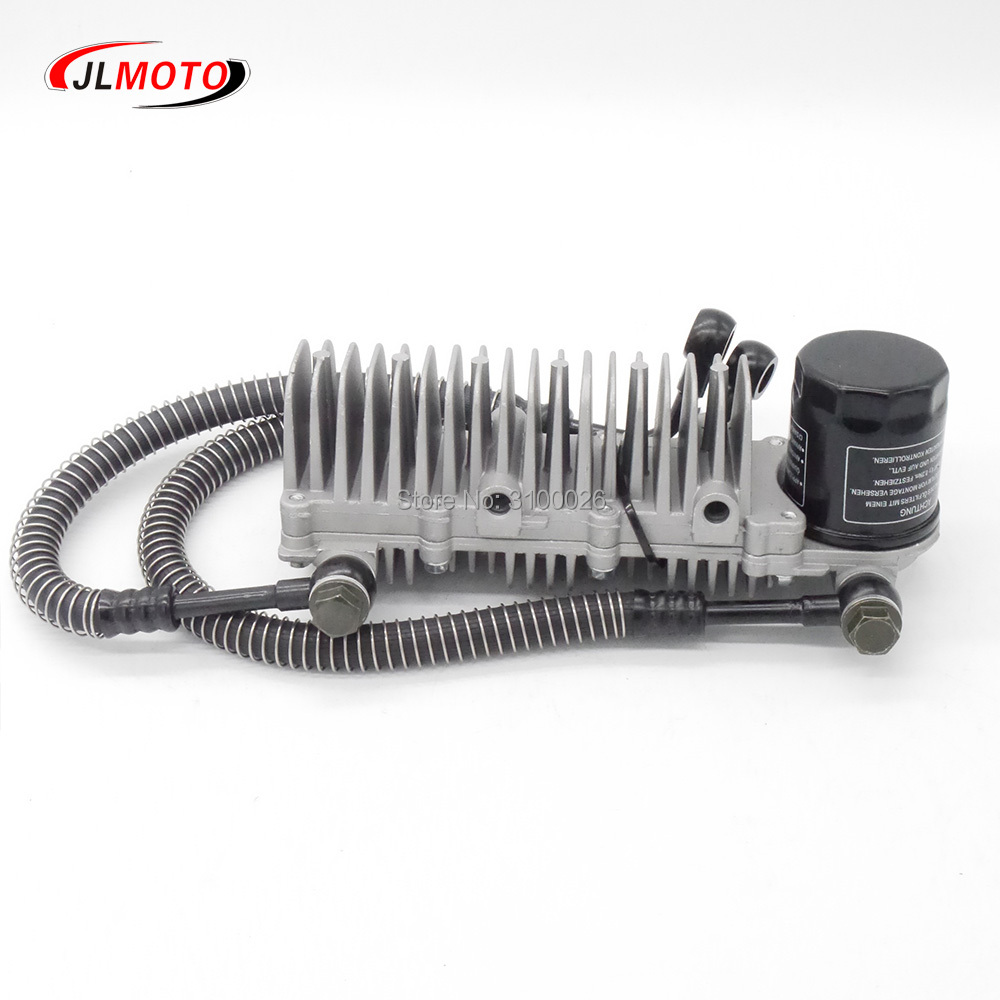 Motorcycle Oil Cooler Durable Parts Motorcycle Engine Oil