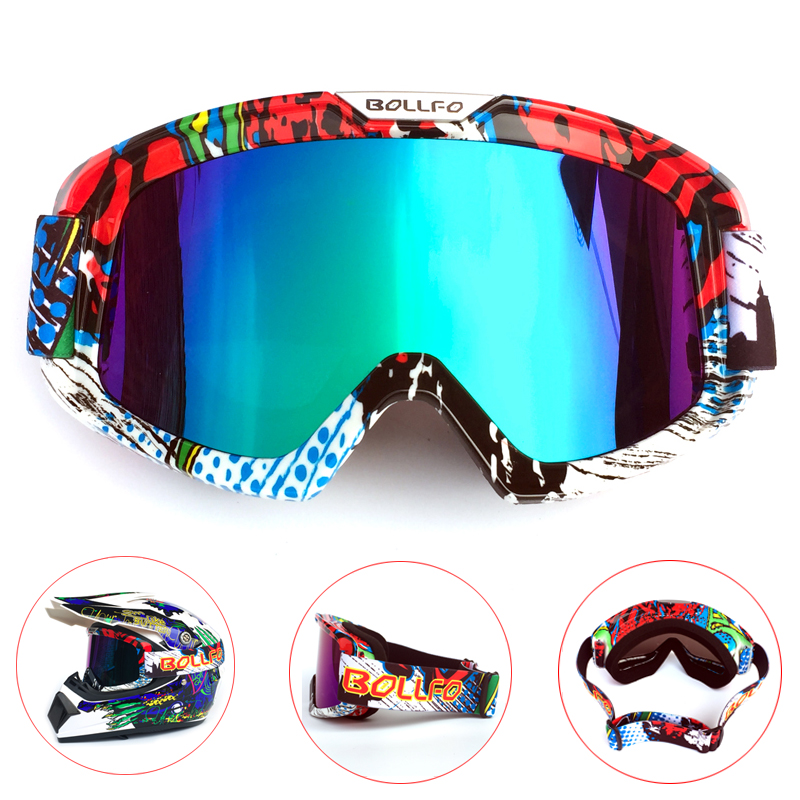 Brand New Men Women Glasses Windproof Skiing Skating Motorcycle Motocross Racing Helmet Goggles Snowboarding Eyewear Protective
