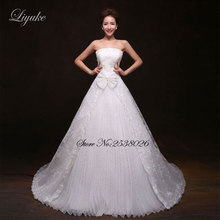 Liyuke J128 Chic Strapless A-Line Wedding Dress Sweet