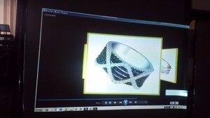 Image 3 - Lage prijs voor Hoge Contrast Rear Projection folie donkergrijs rear projection folie voor reclame, 1.524 m * 0.6 m