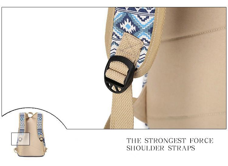 печати холст рюкзак для женщин рюкзаки школы сумка для подростков обувь для девочек винтаж ноутбук рюкзак женский рюкзак школьный