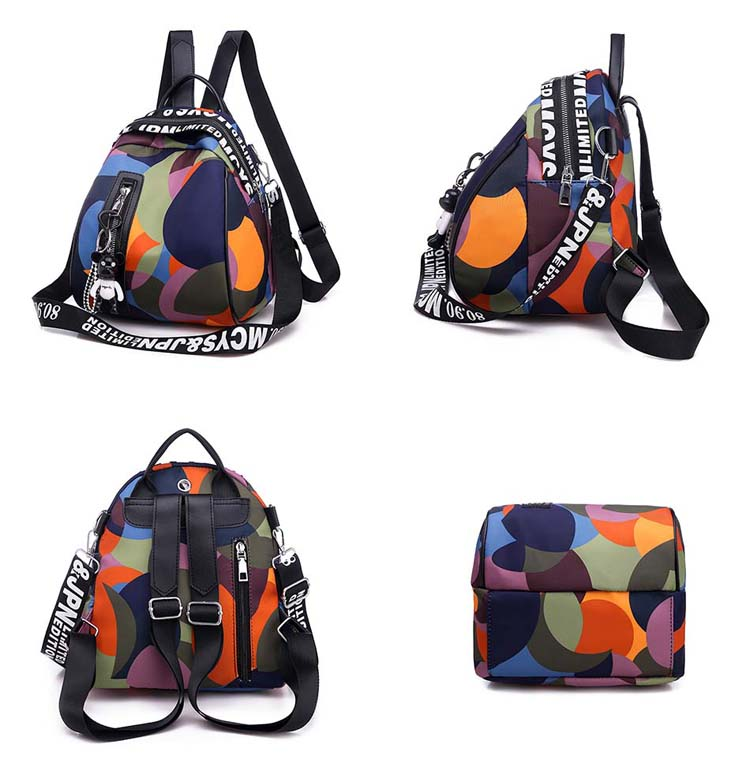 HTB1JnTQaIfrK1Rjy1Xdq6yemFXa4 2019 new ladies bear pendant Multifunction backpack high quality youth color backpack girl casual large capacity Bags for women