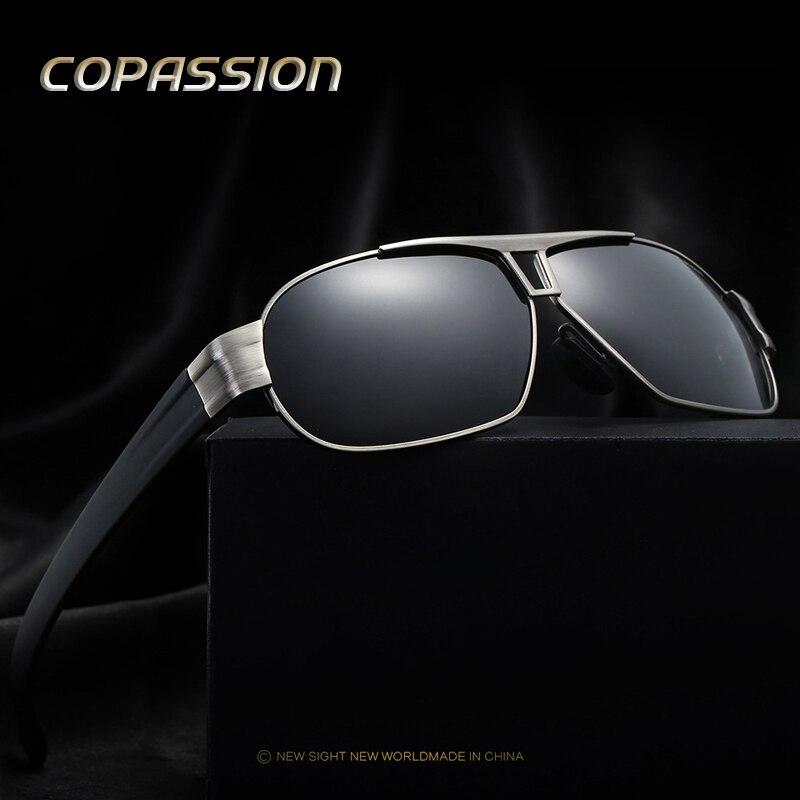 Nouveau HD lunettes de soleil Polarisées Hommes Occhiali Conduite Sportive Lunettes de Soleil Hommes lunettes de soleil Marque Designer De Mode oculos de sol masculino