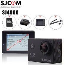 Ursprüngliche SJCAM SJ4000 Aktion Videokamera Wasserdicht 30 mt Tauchen SJ CAM 4000 Grundlegende Sport DV 1080 P Full HD Mini Helm Camcorder