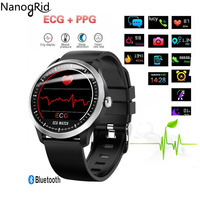 N58 ECG PPG smart watch with electrocardiograph ecg display holter ecg heart rate monitor blood pressure smartwatch sport Fitnes