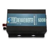 600 Вт Чистая синусоида солнечный Мощность инвертор Dc 12 В 24 В 48 В к Ac 120 В 220 В Зарядное устройство контроллер Off grid Главная Дисплей преобразоват