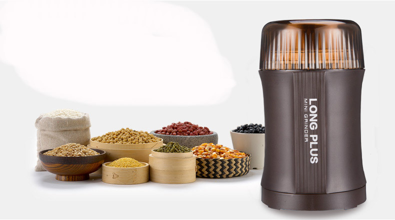 Dropshipping Electric Coffee Spice Grinder Maker with Stainless Steel Blades Beans Mill Herbs Nuts Moedor de Cafe Home Use stainless steel electric coffee spice grinder maker beans herbs nuts cereal grains mill machine home use eu plug