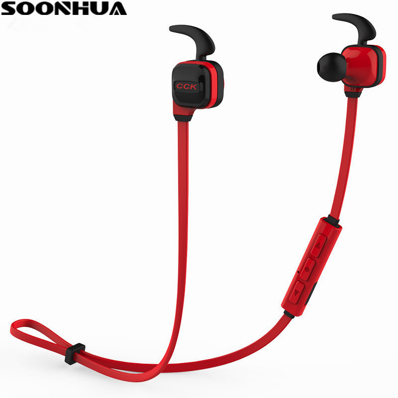 New Bluedio CCK Bluetooth 4.1 Wireless Earphone With MIC Sport Running Stereo Bass Noise Cancelling In Ear Earphone For iPhone running bluetooth earphone hands free hbs 902 earphone sport wireless with mic for samsung iphone