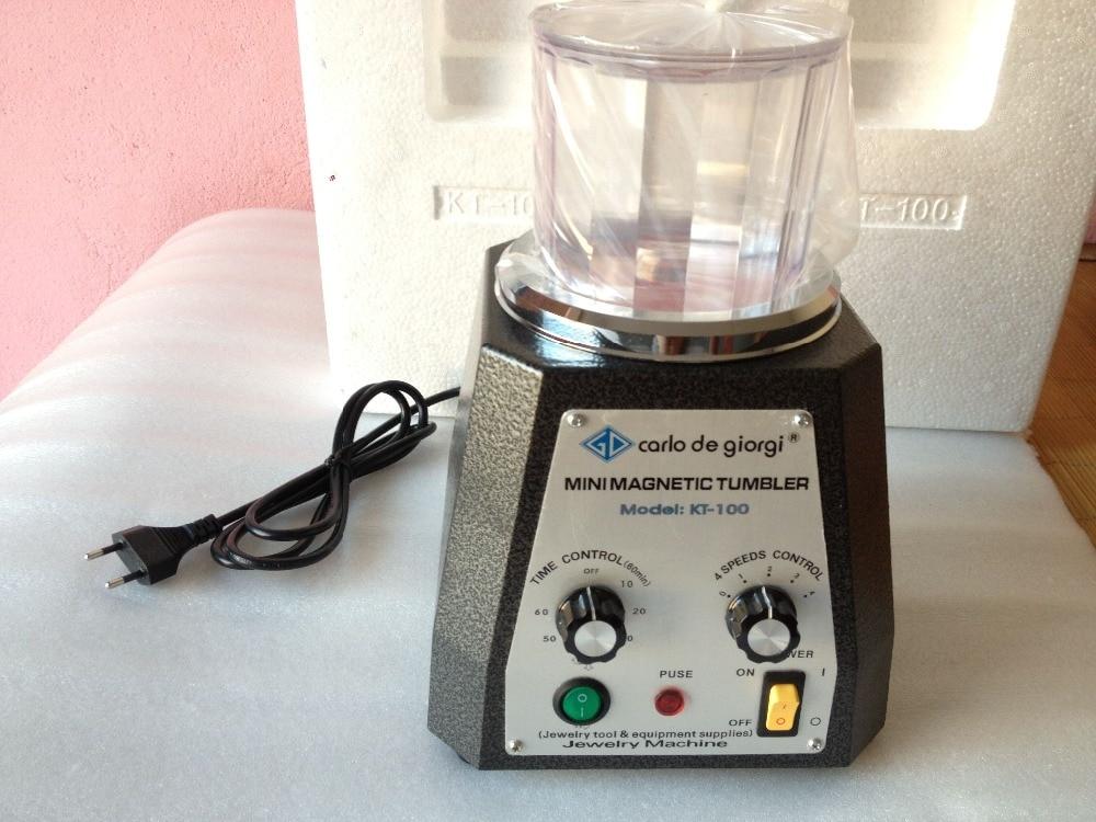 Magnetic Tumbler 100mm Jewelry Polisher & Finisher Finishing Polishing machine