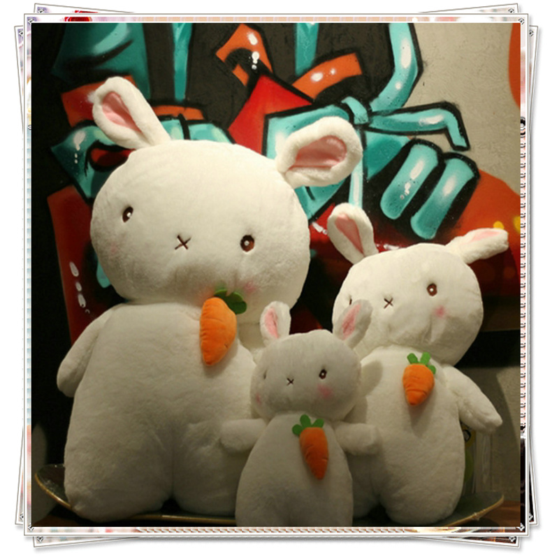 Bunny plush stuffed animals stitch plush pillow toys for children fluffy bunny spongebob giant bear bed valentines day