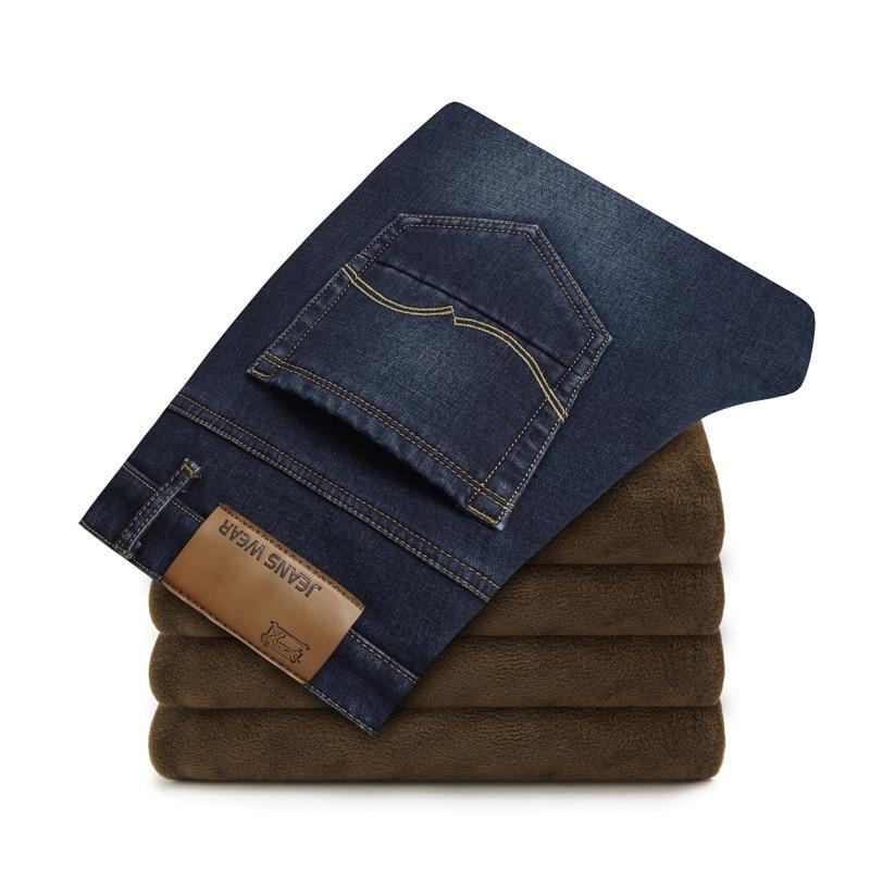 Warm Soft Jeans for Men 5