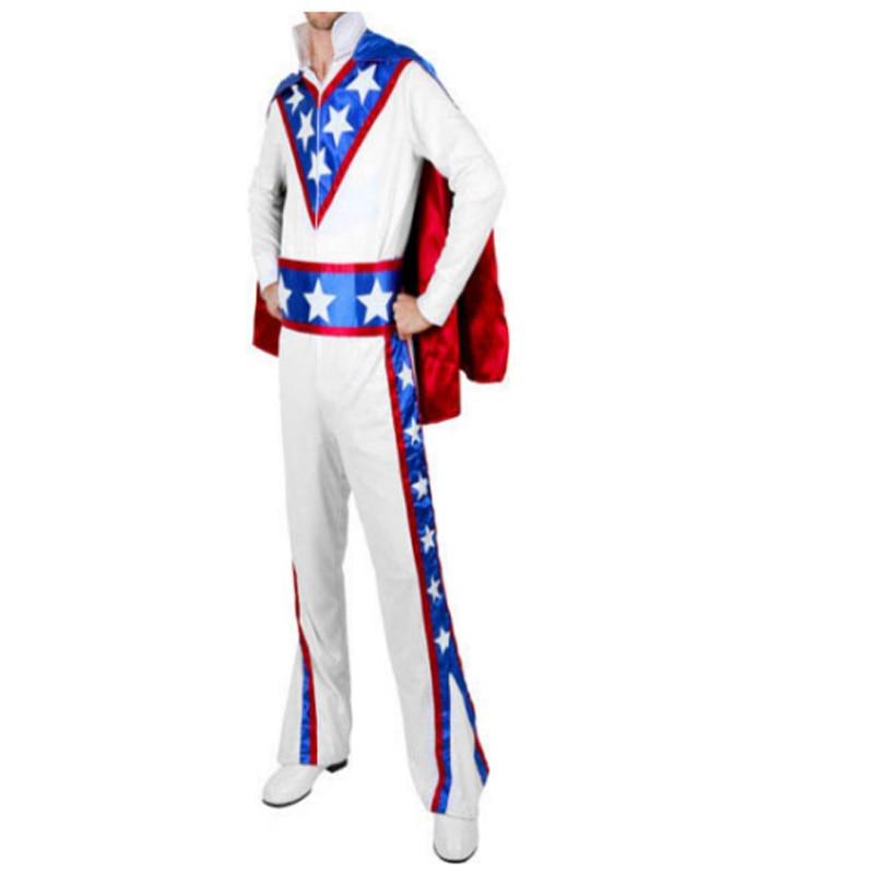 Adult Daredevil Halloween Costume  Smiffy's Men's Evel Knievel Costume