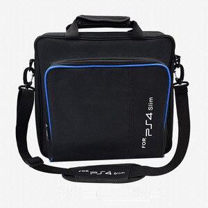 Image 2 - สำหรับ PS4 / PS4 Pro Slim เกมระบบ Original ขนาดสำหรับ PlayStation 4 คอนโซลป้องกันไหล่กระเป๋าถือกระเป๋าถือกรณีผ้าใบ