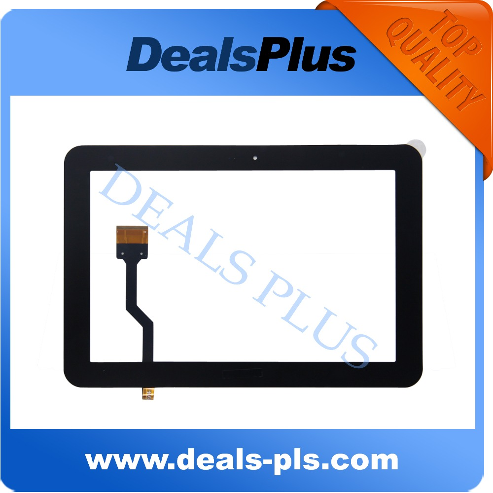 Replacement New Touch <font><b>Screen</b></font> Digitizer Glass For <font><b>Samsung</b></font> Galaxy Tab 8.9 <font><b>P7300</b></font> P7320 P7310 Black image