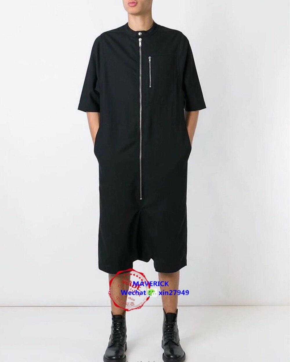 42 Mono Entrepierna Cremallera Verano Estilo Estilista Pantalones De Manga Corta Bajo 27 Moda 2017 Siameses Hombres Europeo qdwAW7Bp