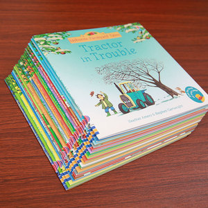 Image 5 - 20 pièces/ensemble 15x15cm Usborne photo livres anglais pour enfants et bébé histoire célèbre contes anglais série de livre enfant histoire de ferme