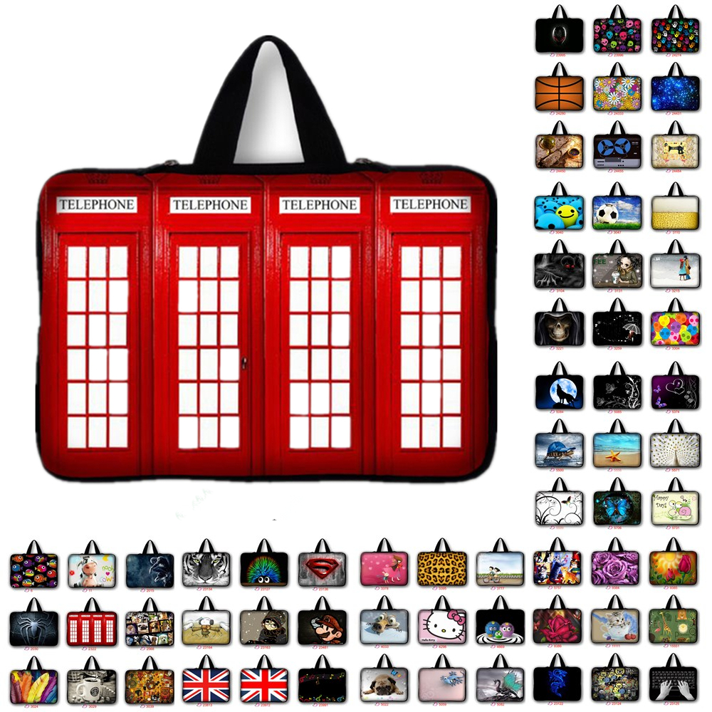 New Fashion Universal Soft Neoprene Laptop Sleeve Case Netbook Bag Pouch Cover for 10.1 11.6 12 13 13.3 14 15 15.6 17 17.4 #5