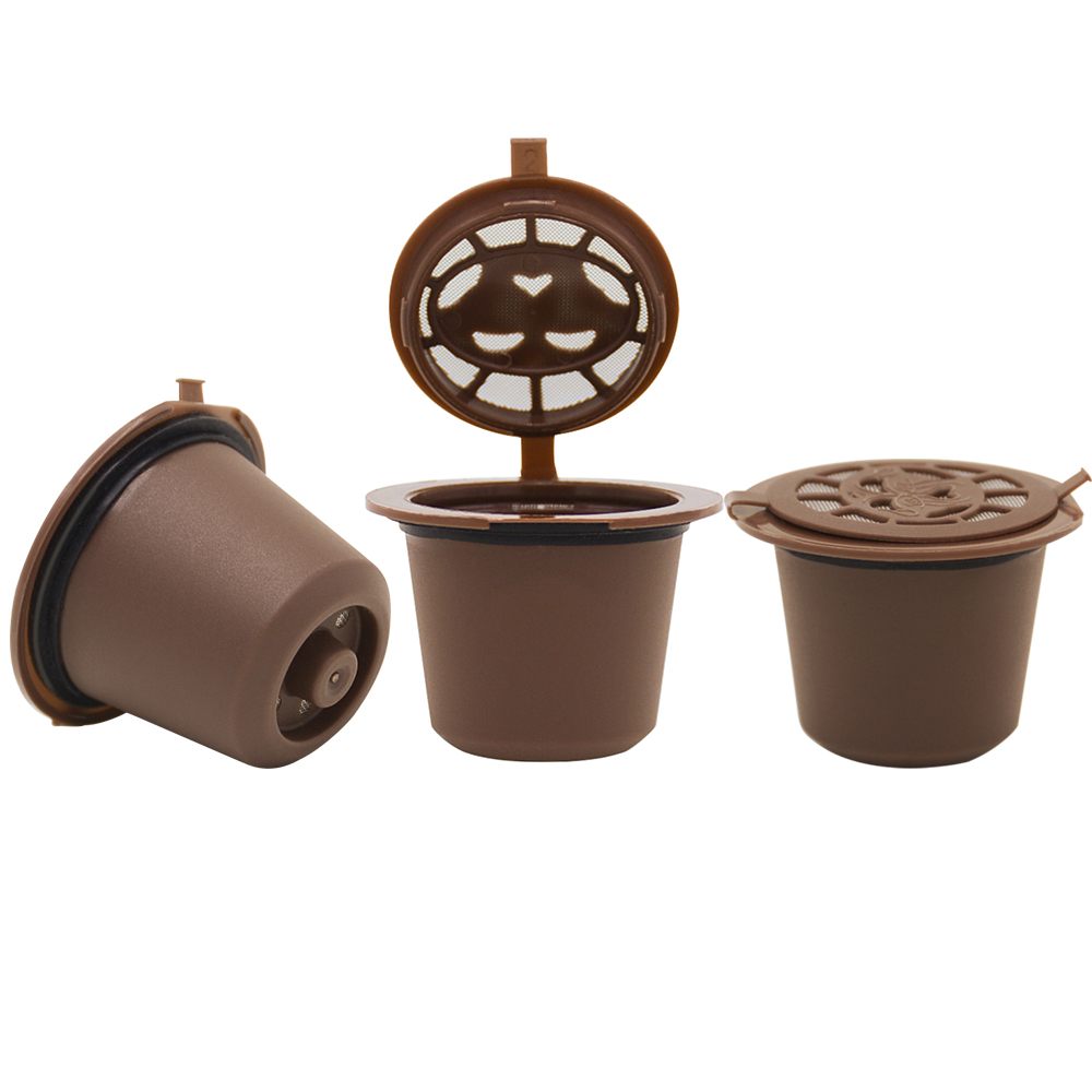 4 teile/paket Nachfüllbare Nespresso Kapsel Kompatibel mit Nespresso Kaffee maschine Nachfüllbare capsulas...