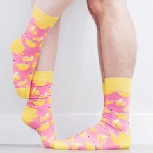 2018 Fashion Style Calcetines Mujer Hombre Happy Socks Art Fruit Crew Cotton Knitting Hip Hop Street Snap Sokken Wedding Funny