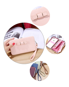 Image 5 - Women Clutch Wallet Leather Case for Xiaomi Mi 9 9T Pro 8 SE Redmi K20 Pro Note 7 CC9 CC9e Case Universal Cover Handbag Purse