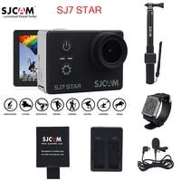 100 Original SJCAM SJ7 STAR Wifi 4k Touch Screen Remote Ambarella A12S75 30M Waterproof Sports Action