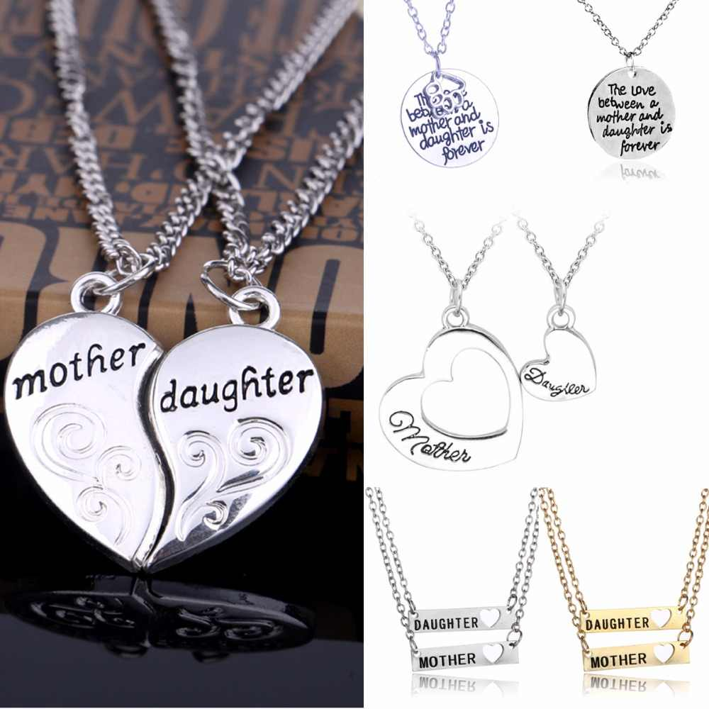 Heart Cutout Charm Necklace ~ Sterling Silver Chain Birthday Gift Love Necklace Mother/'s Day Gift Mom ~ Engagement ~ Personalized Note