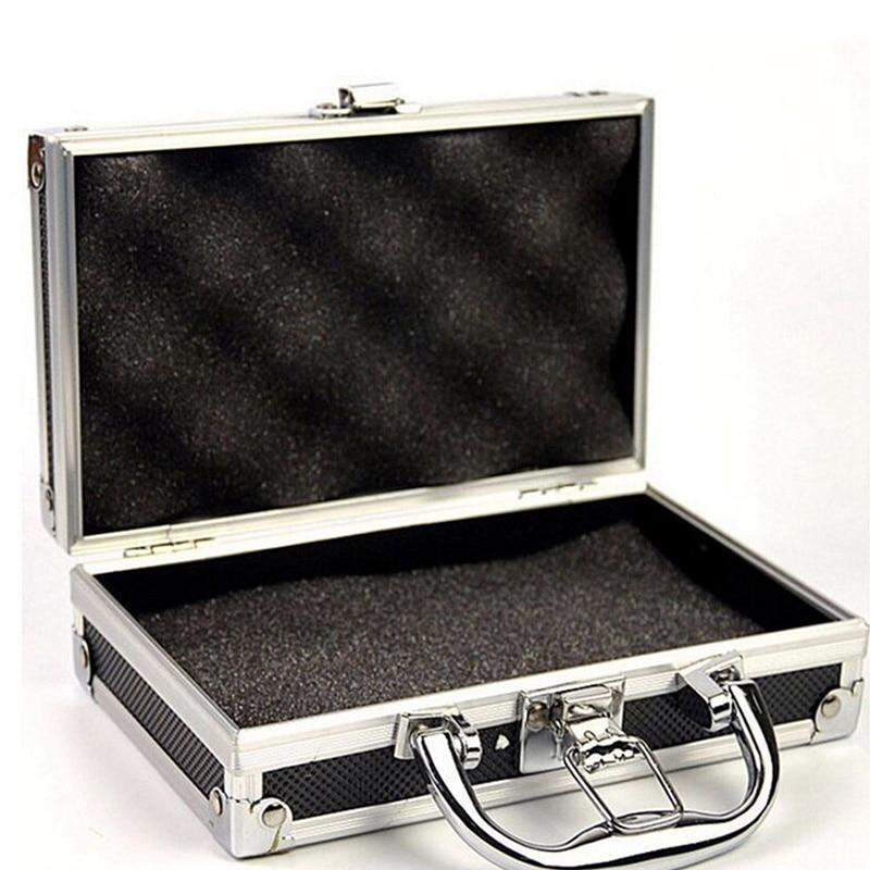 Make Up Organizer Home Aluminium Alloy Storage Box Portable Storage Suitcase Travel Luggage Organizer Case Tools