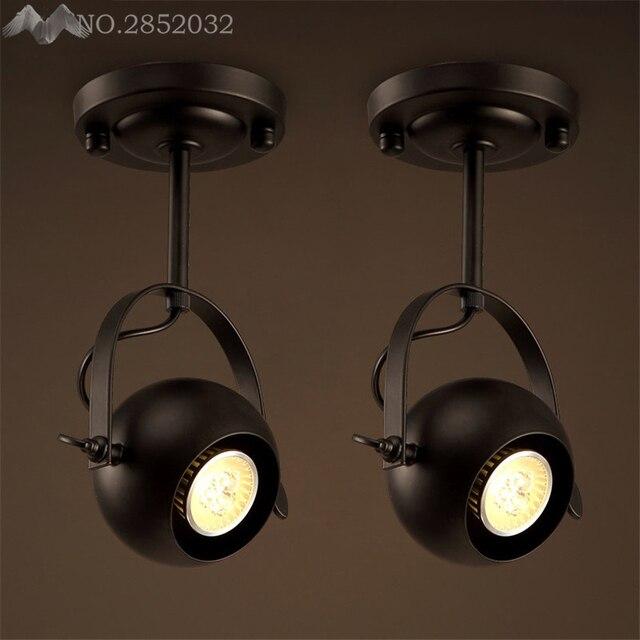 Creative Industrial Retro Art Deco Iron Pendant Lamp Big Drum ...