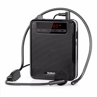 2 Color 5W Portable Voice Amplifier Loudspeaker With FM Radio MP3 Player Power Bank For Teacher