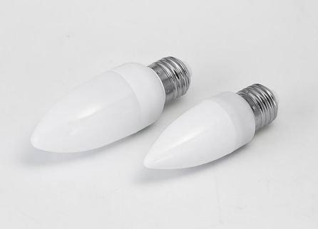 LED candle Light with E27 Base;18pcs 5mm dip led;1-1.5W;72-100 lm;P/N:HA009