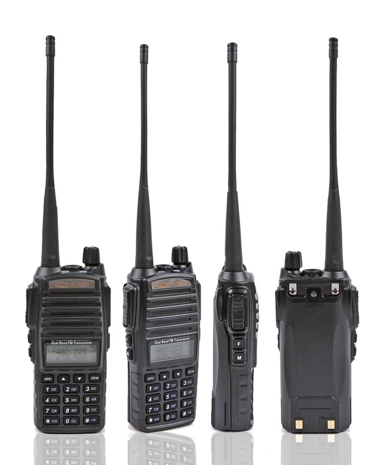 TD-UV82 Walkie Talkie Δύο καναλιών ραδιόφωνο VHF & UHF 136-174MHz & 400-520MHz