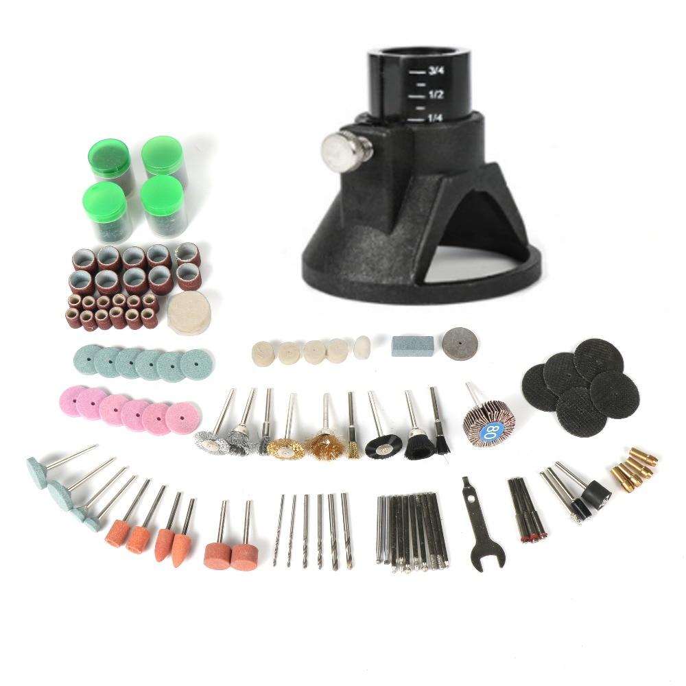 Tungfull Dremel Accessori per strumenti di localizzazione strumenti rotanti Horn 173Pcs Accessori Intaglio Grinding Strumenti per lucidatura Kit