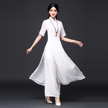 new vietnam ao dai chinese traditional dress chinese dress qipao long chinese cheongsam dress robe chinoise modern cheon