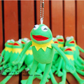 1 pcs 6.3'' 16cm Kermit Plush Toy keychain pendant Sesame Street Frogs Doll Stuffed AnimalToy Plush Frog Doll Holiday Gift