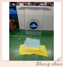 Acrylic podium pulpit lectern for speech