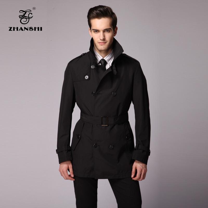 ZHANSHI 2015 New Collection High Quality Fashion Men Black ...
