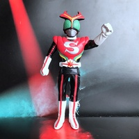 Hot Toy Garage Kit 17cm Figurine Masked Rider Kamen Stronger Superman Loose Toy Collectible Figure Doll