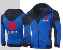 autumn and winter men's motorcycle Suzuki hoodie 4S shop sales YAMAHA Sweatshirt pullover coat KTM casual jacket Kawasaki hoodie(China)