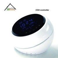 Hessway лазерный датчик CO2 PM2.5 качество воздуха в помещении монитор с три скорости вентилятора, перепускной клапан